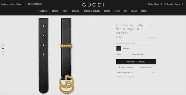 Gucci originale o Gucci falso  5 trucchi per capirlo al volo 9f7e77726bed