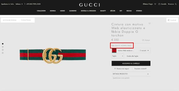 consistenza netta gamma esclusiva funzionario di vendita caldo Gucci originale o Gucci falso? 5 trucchi per capirlo al volo