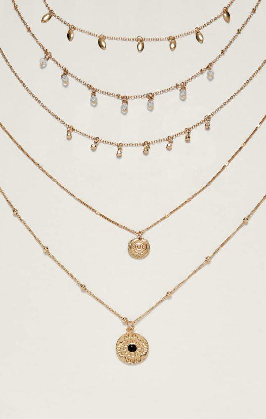 collane sottili oro economiche