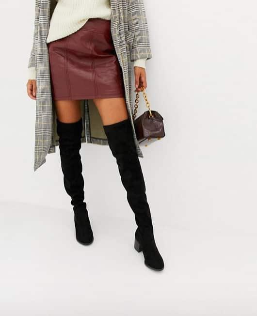 stile squisito donna donna Stivali lunghi neri: come indossarli e abbinarli