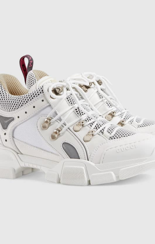 chunky sneakers gucci bianco