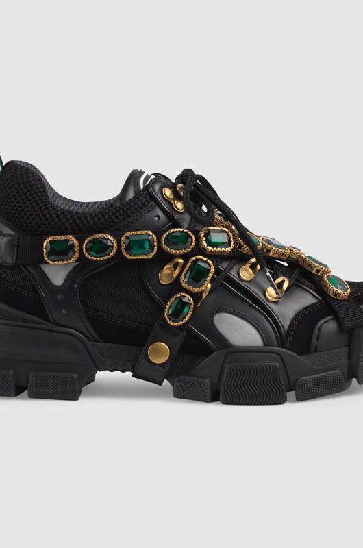 chuncky sneakers gucci nero
