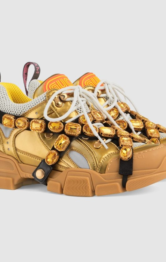 chunky sneakers gucci oro