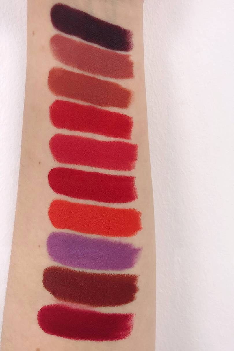 rossetti zara swatches e review