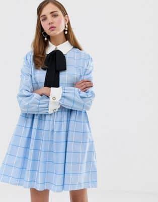 vestito blu outfitvestito blu outfit