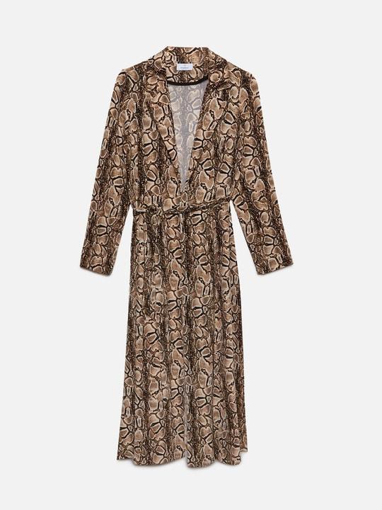 vestito stampa pitone motivi 2019