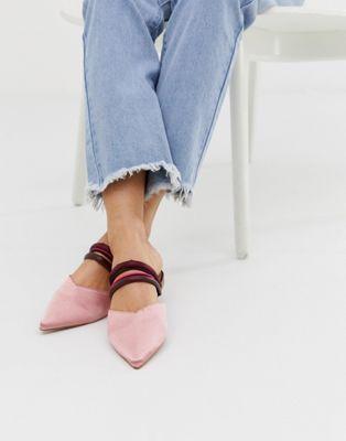 ballerine rosa a punta 2019