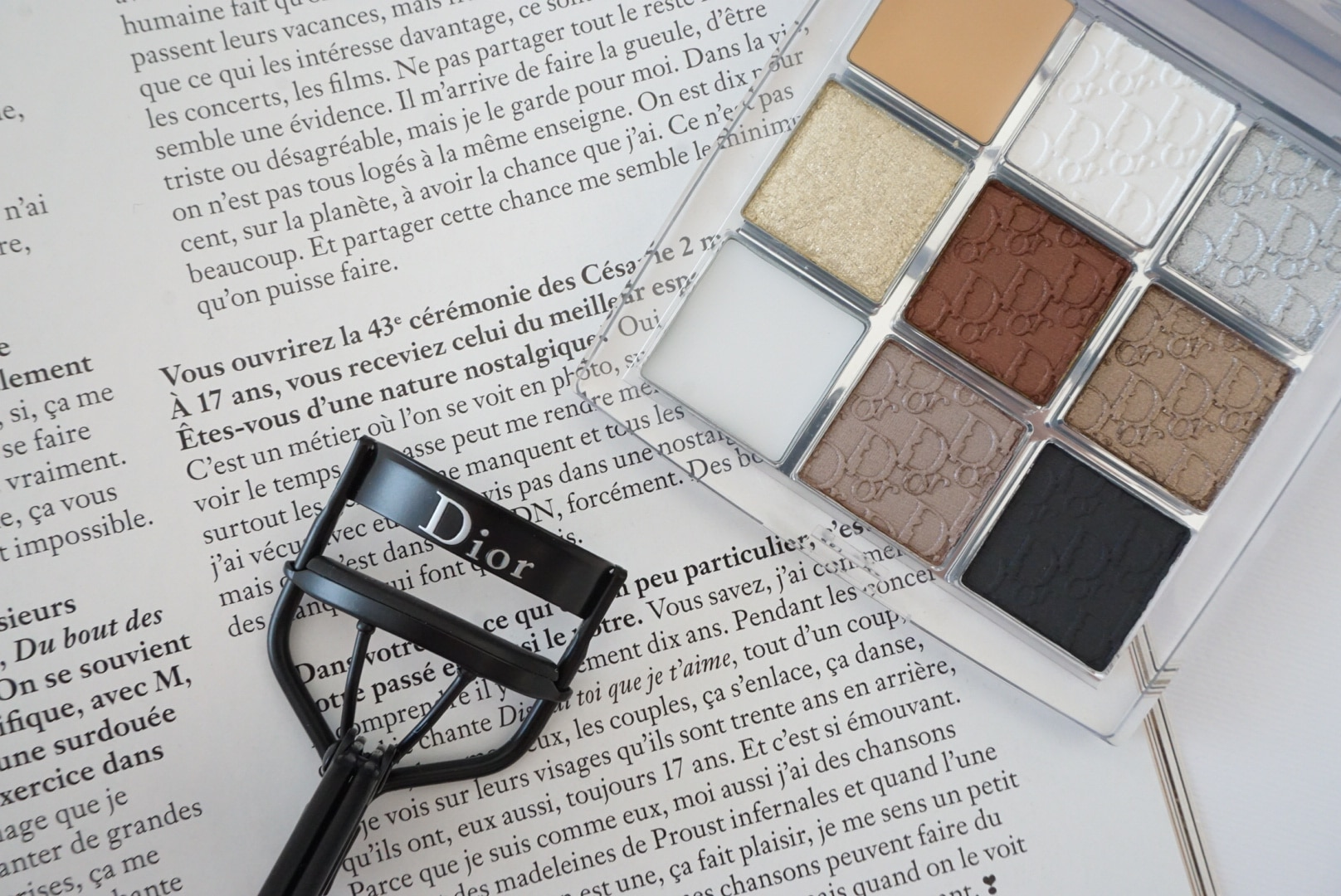 palette dior backstage review