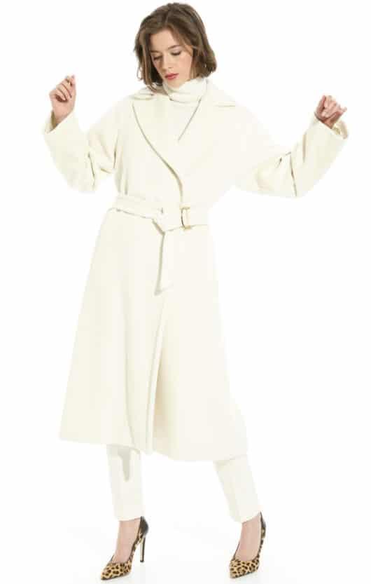 cappotto bianco diffusione tessile