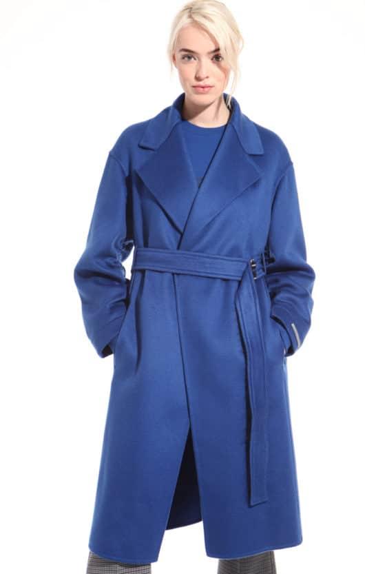 cappotto blu diffusione tessile