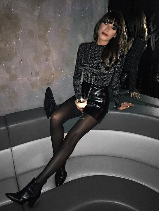 outfit discoteca inverno