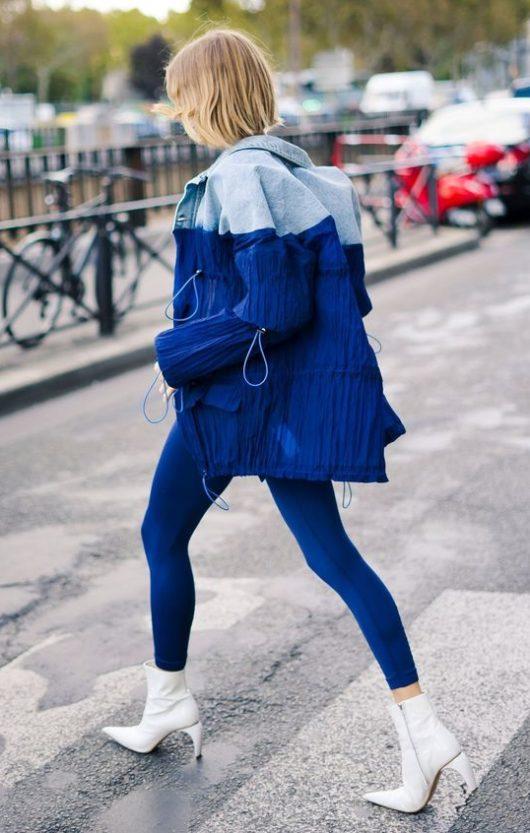 come abbinare il blu