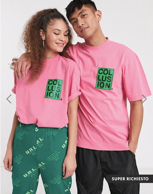 maglietta stampata asos