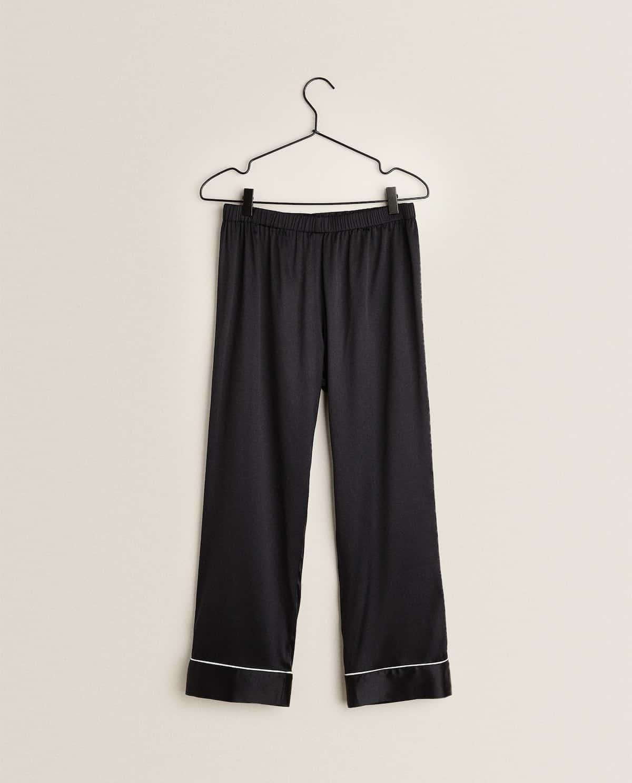 pantaloni seta zara