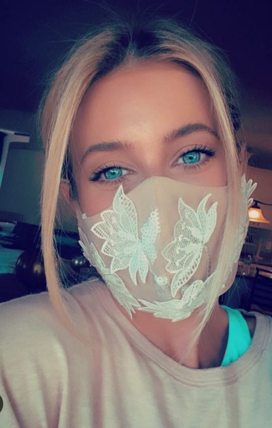 mascherina viso moda