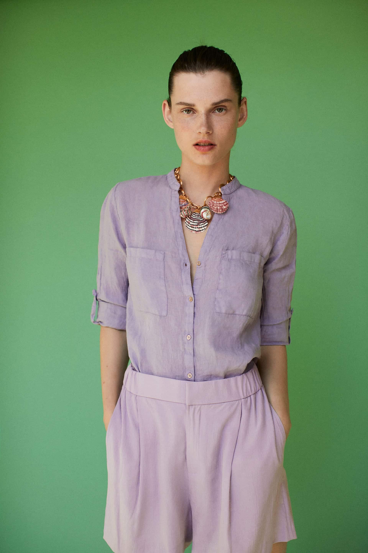 camicia lino outfit