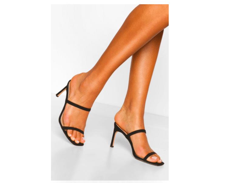 sandali punta quadrata