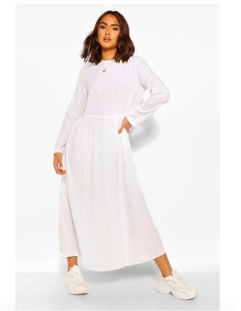 vestito bianco autunno 2020