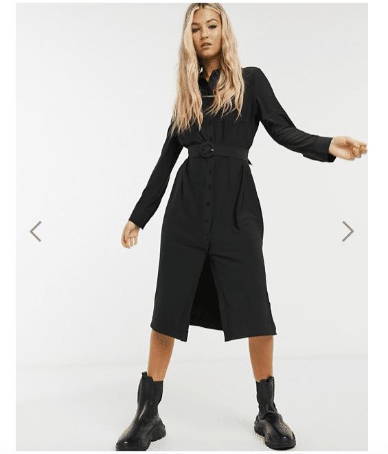vestito nero asos