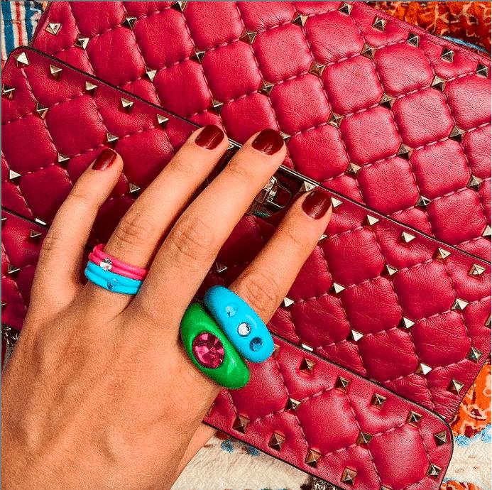 anelli colorati plastica kiriochi