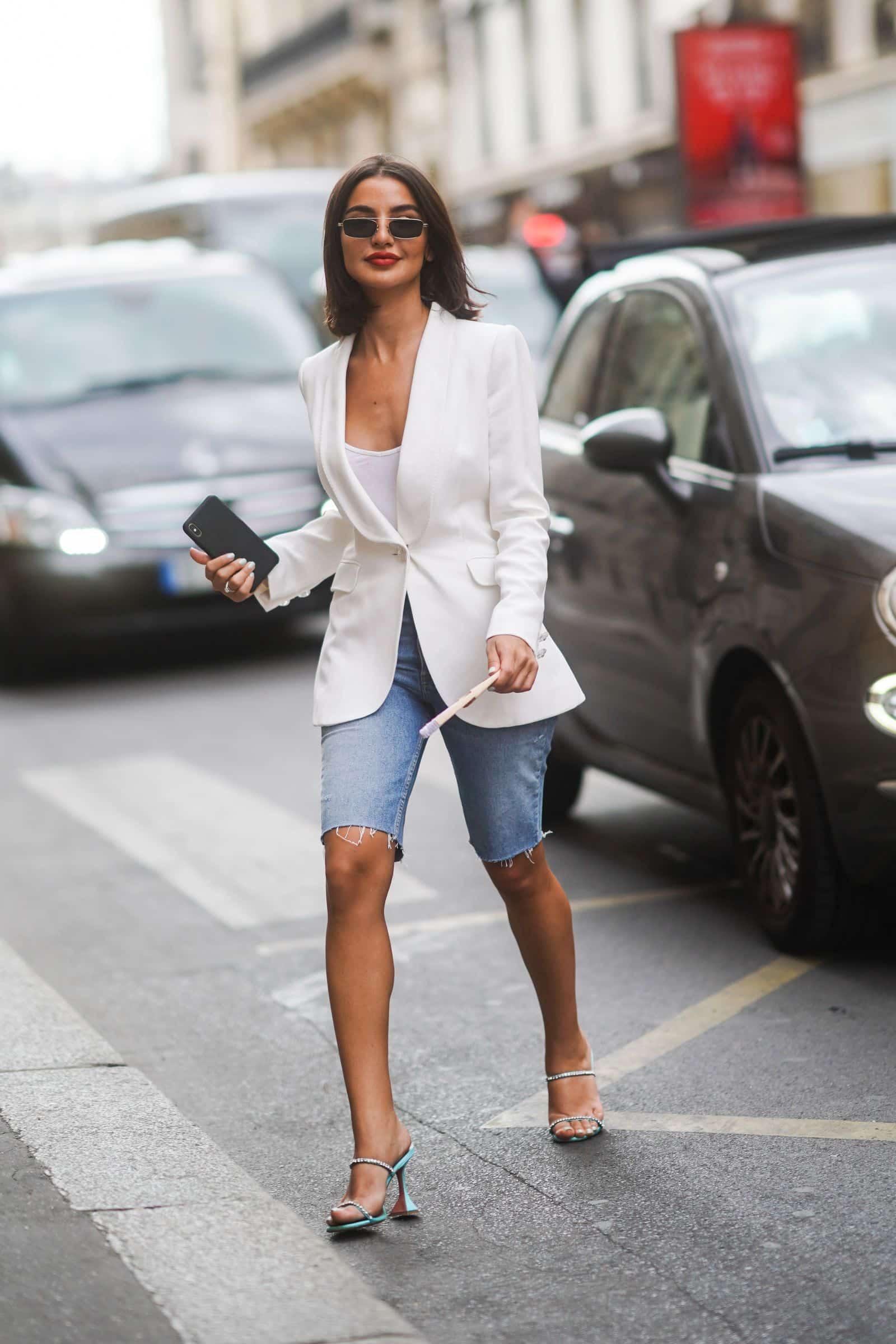 bermuda jeans donna